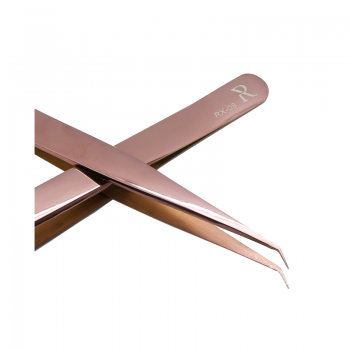 PINCE ANGLE ROSE GOLD RX-08